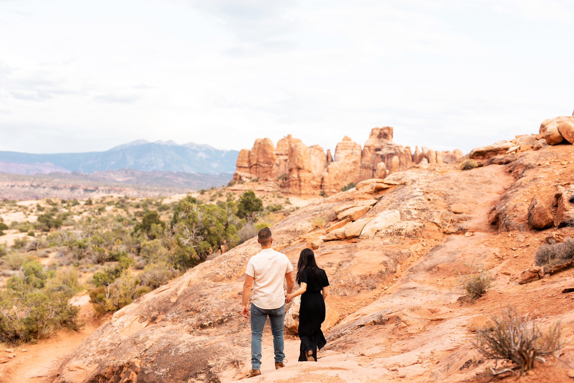 Arches National Park Engagement Photos