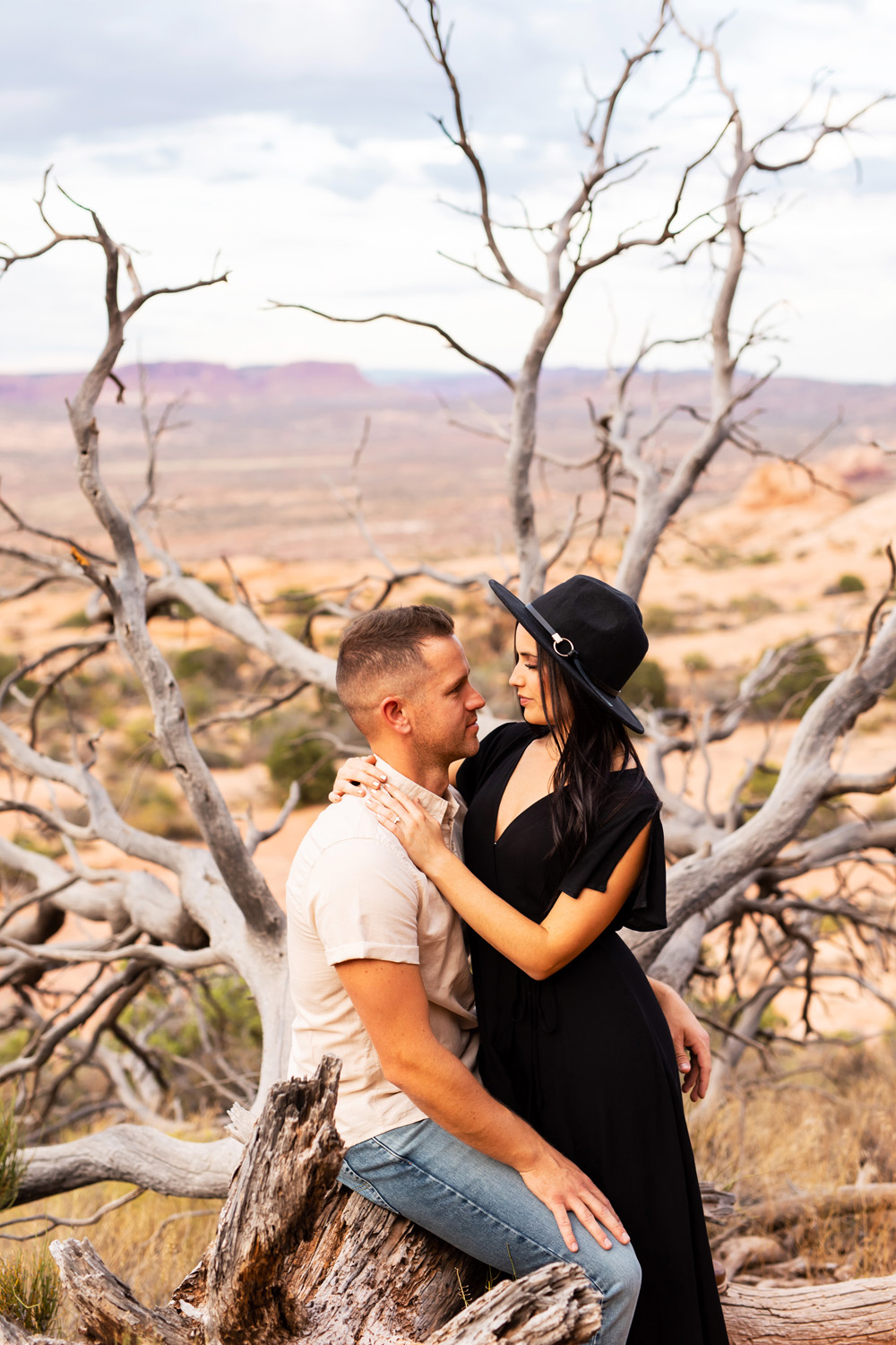 Arches National Park Engagement Photos