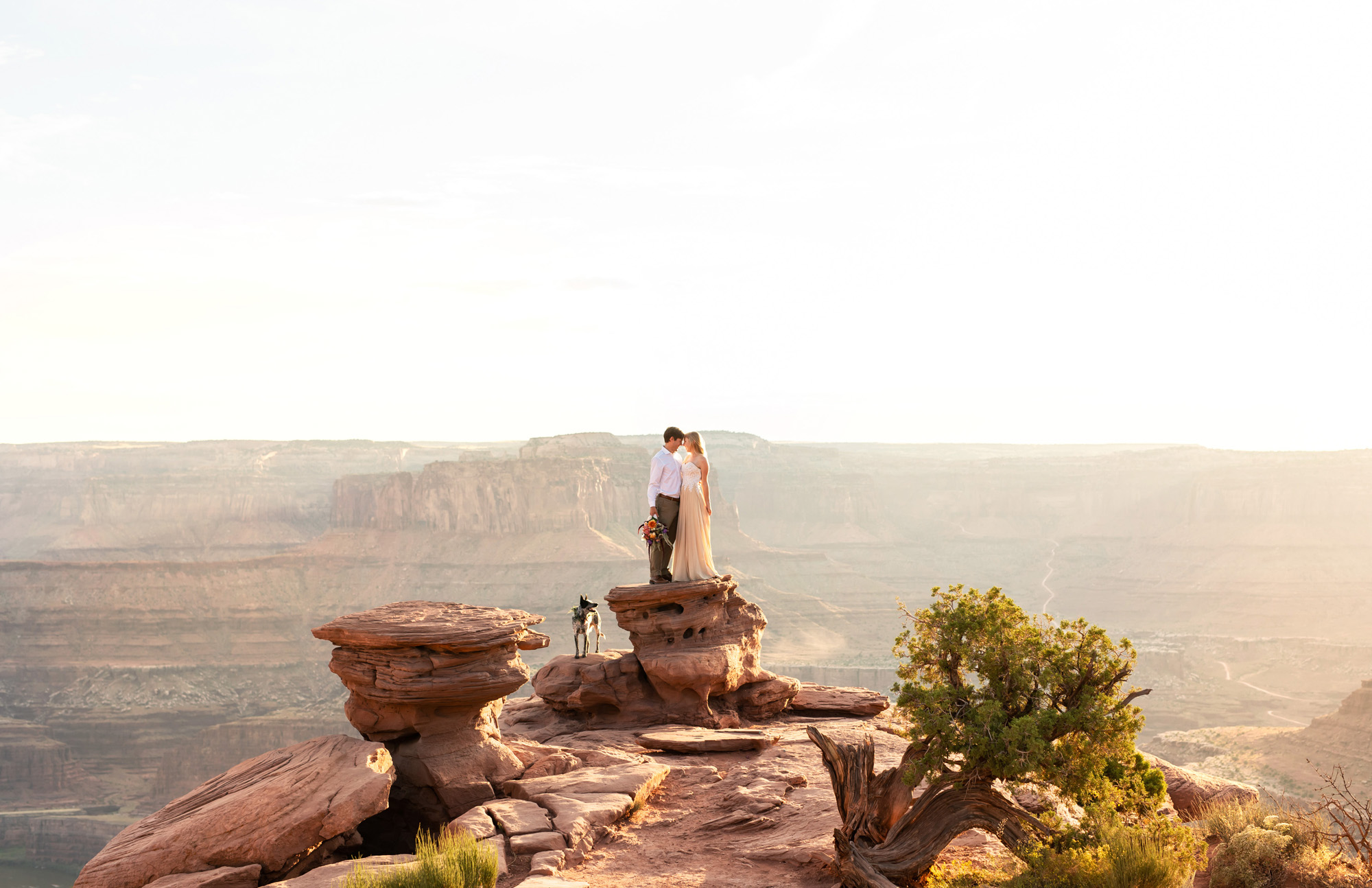 Moab Dead Horse Engagement Photos