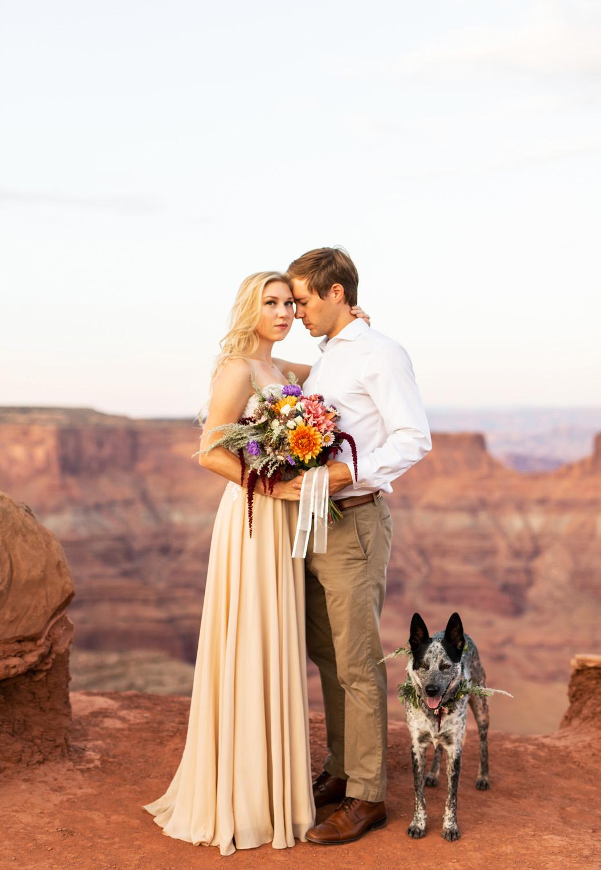 Moab Dead Horse Engagement Photos