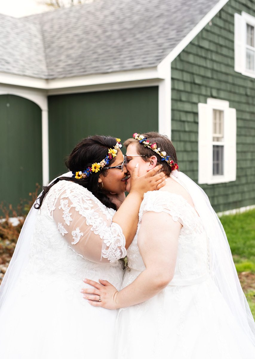Northampton Pride Parade Wedding by Monika Normand Photography