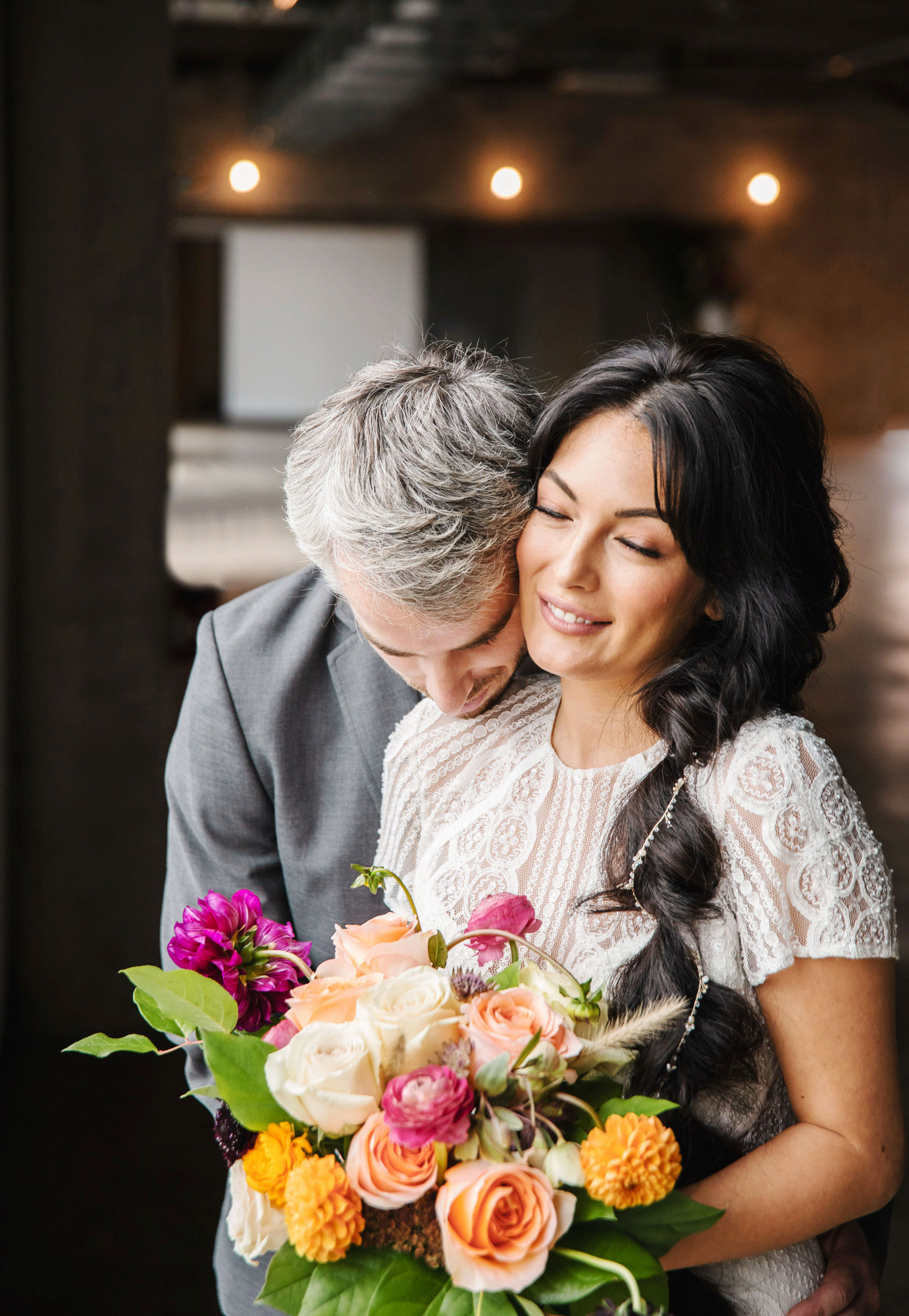 Industrial Loft Downtown Dallas Elopement