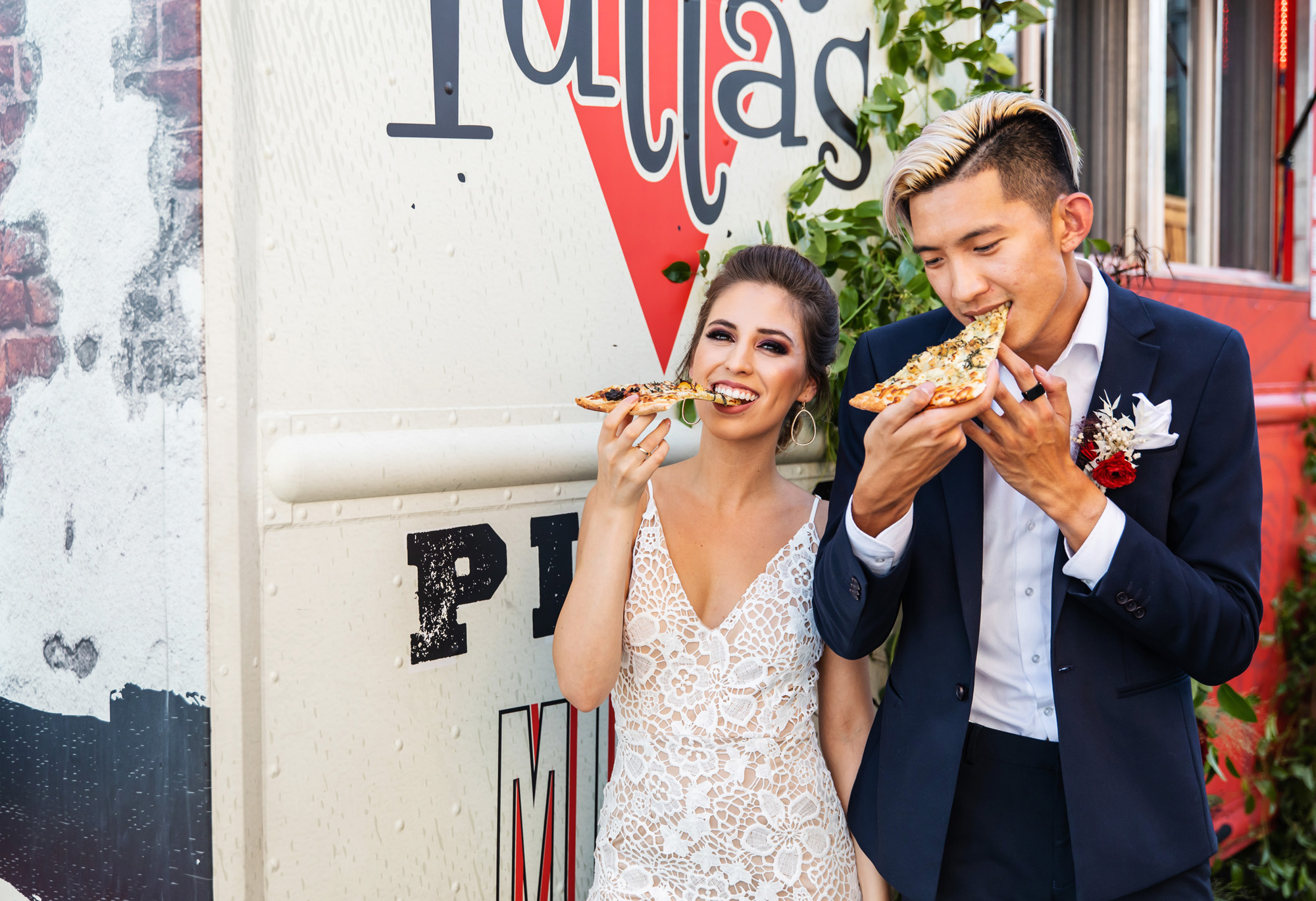 Tutta's Pizza Wedding