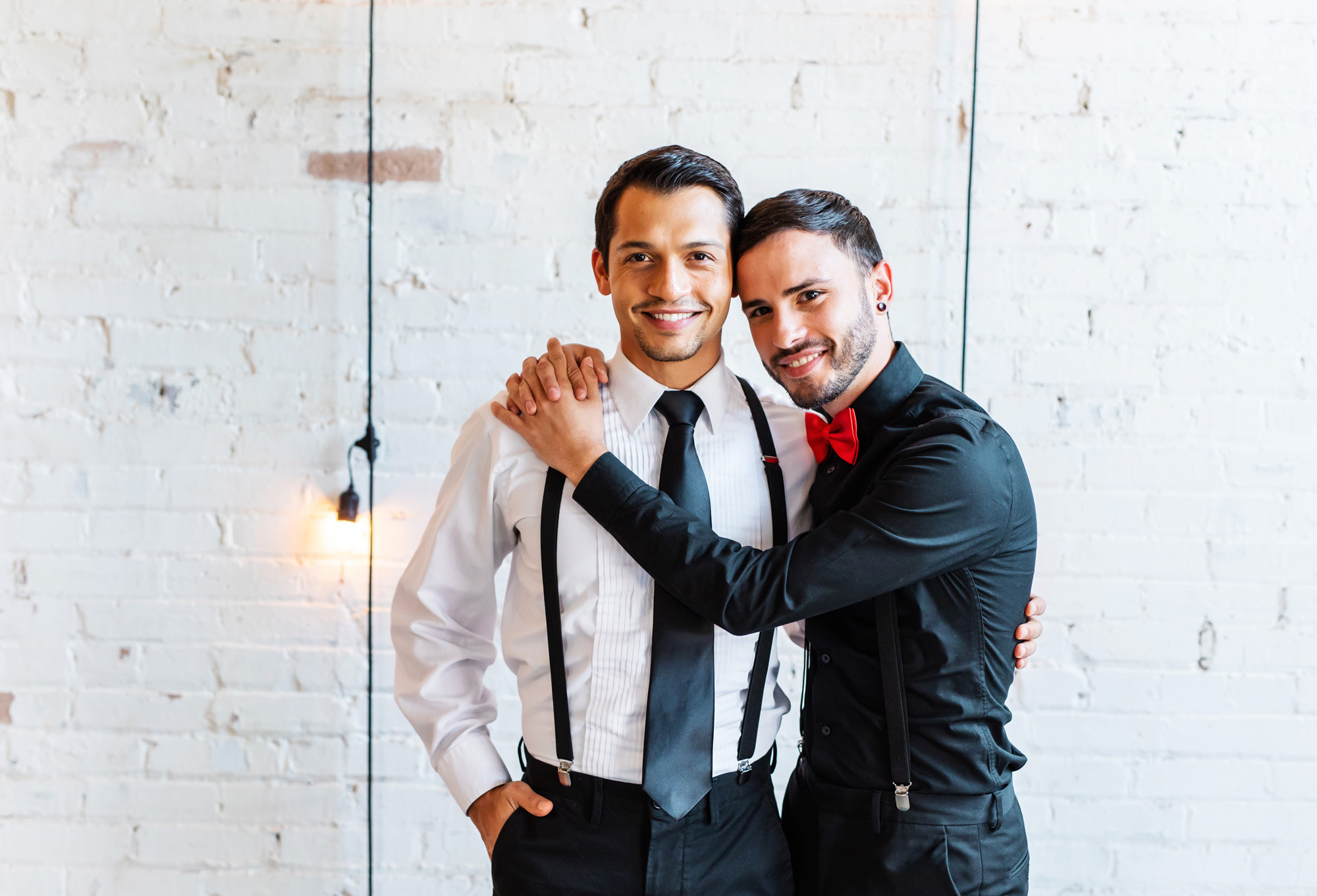 Modern Industrial Same Sex Wedding