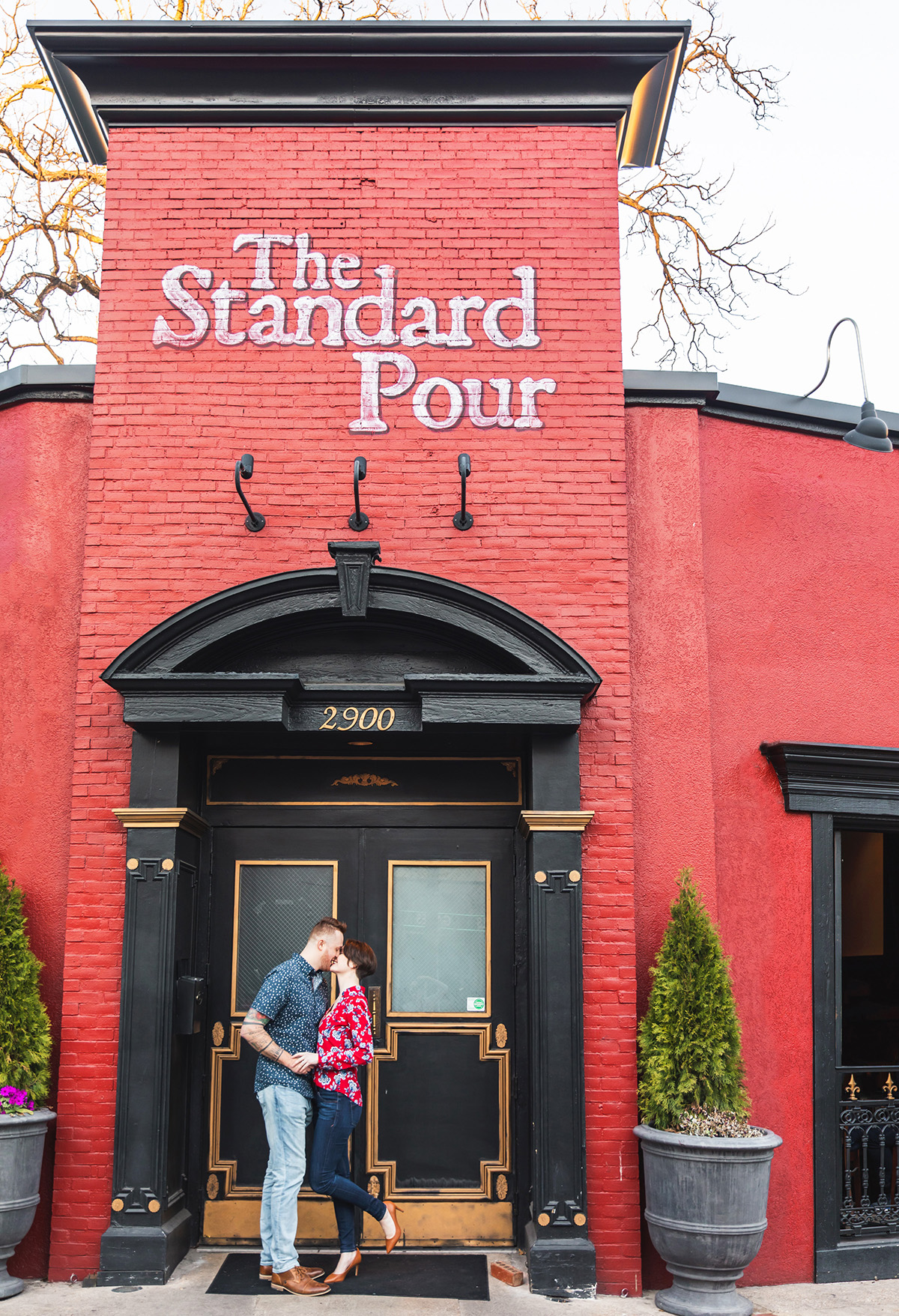 The Standard Pour Engagement Session by Monika Normand Photography
