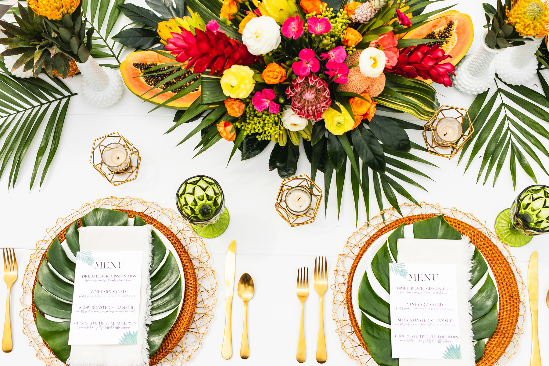 Tropical Shoot at Dallas Oasis by Monika Normand Photography