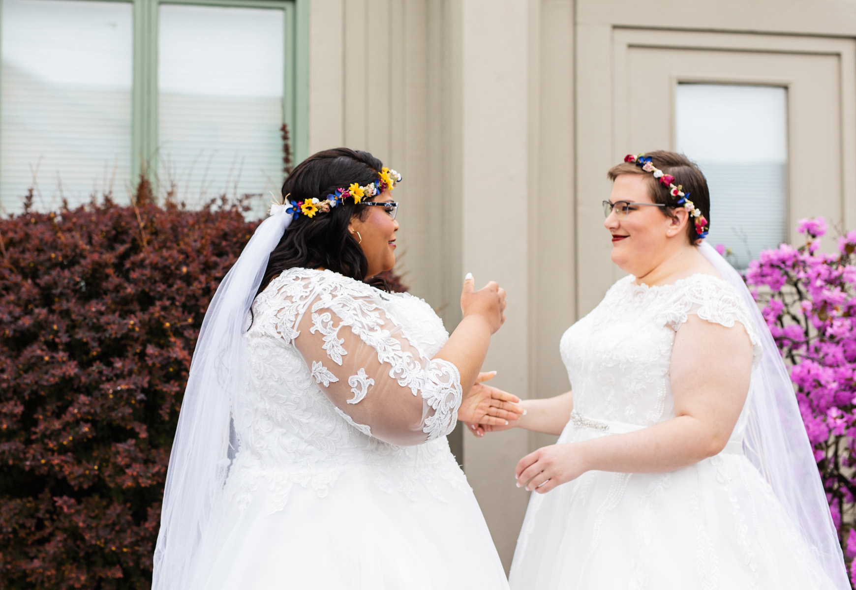 2019 Northampton Pride Parade Wedding by Monika Normand Photography