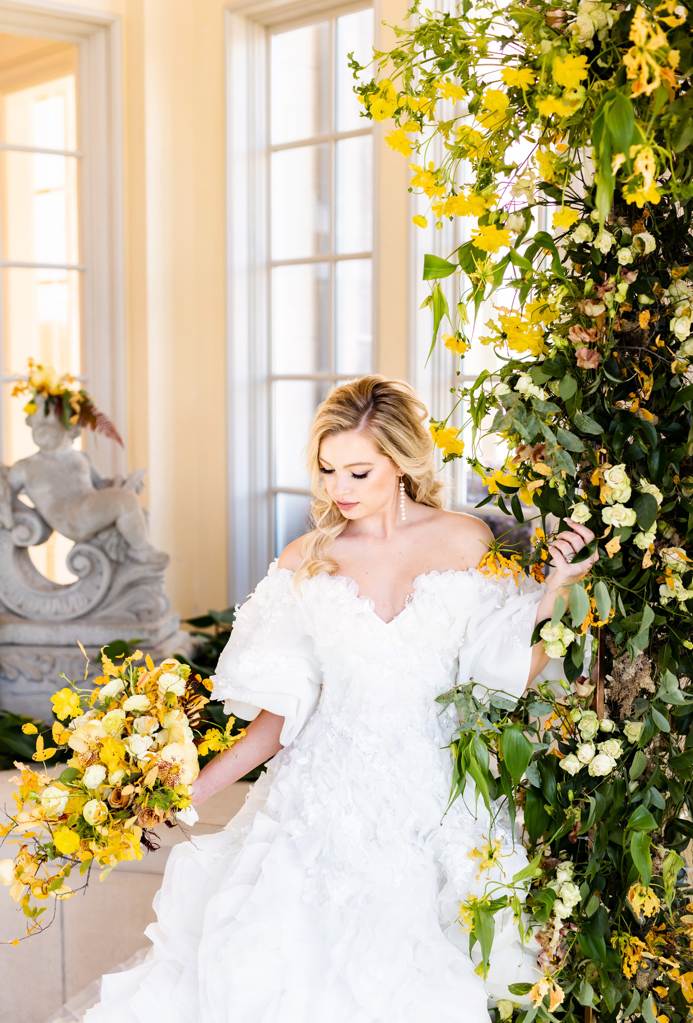 Yellow Wedding Palette at the Olana