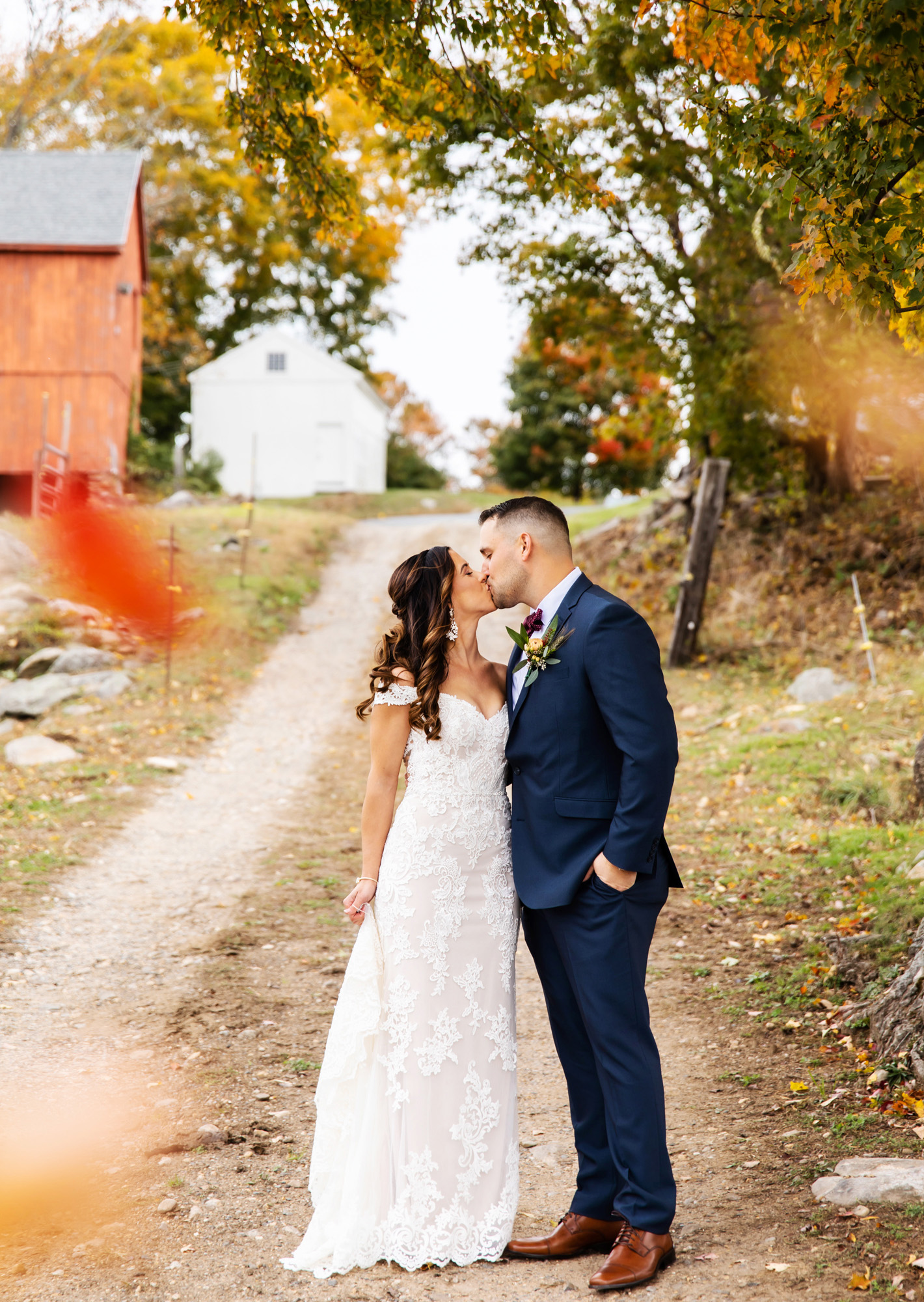 Salem Cross Inn Wedding Monika Normand Photography