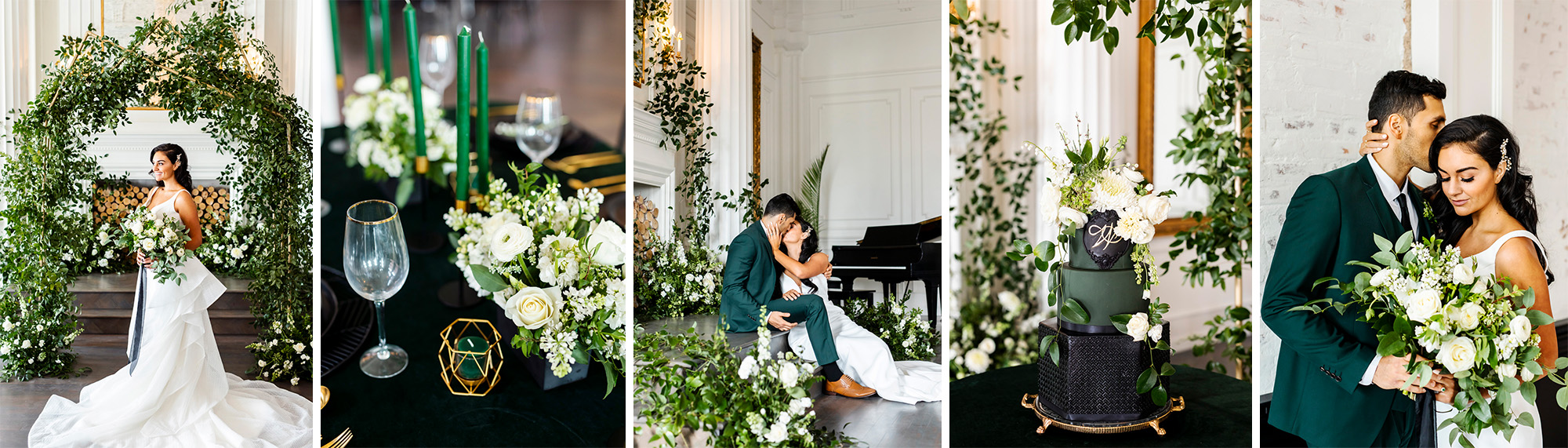 Emerald Green Styled Shoot @ The Mason Dallas
