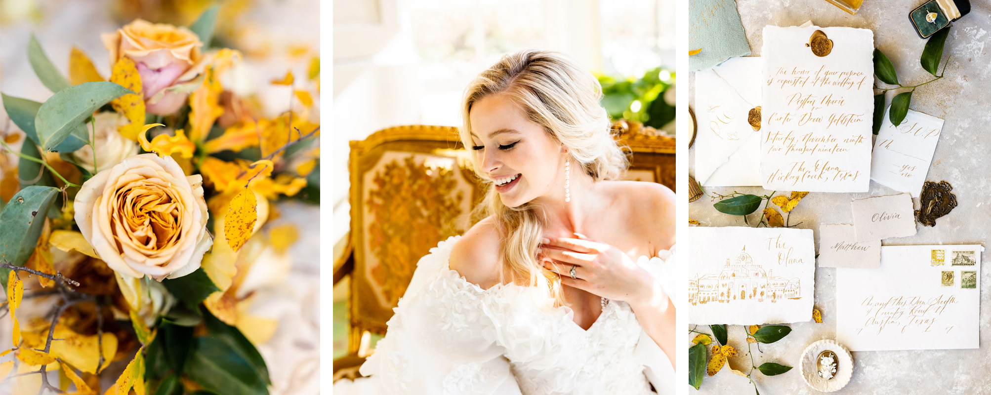 Yellow Wedding Palette Inspiration