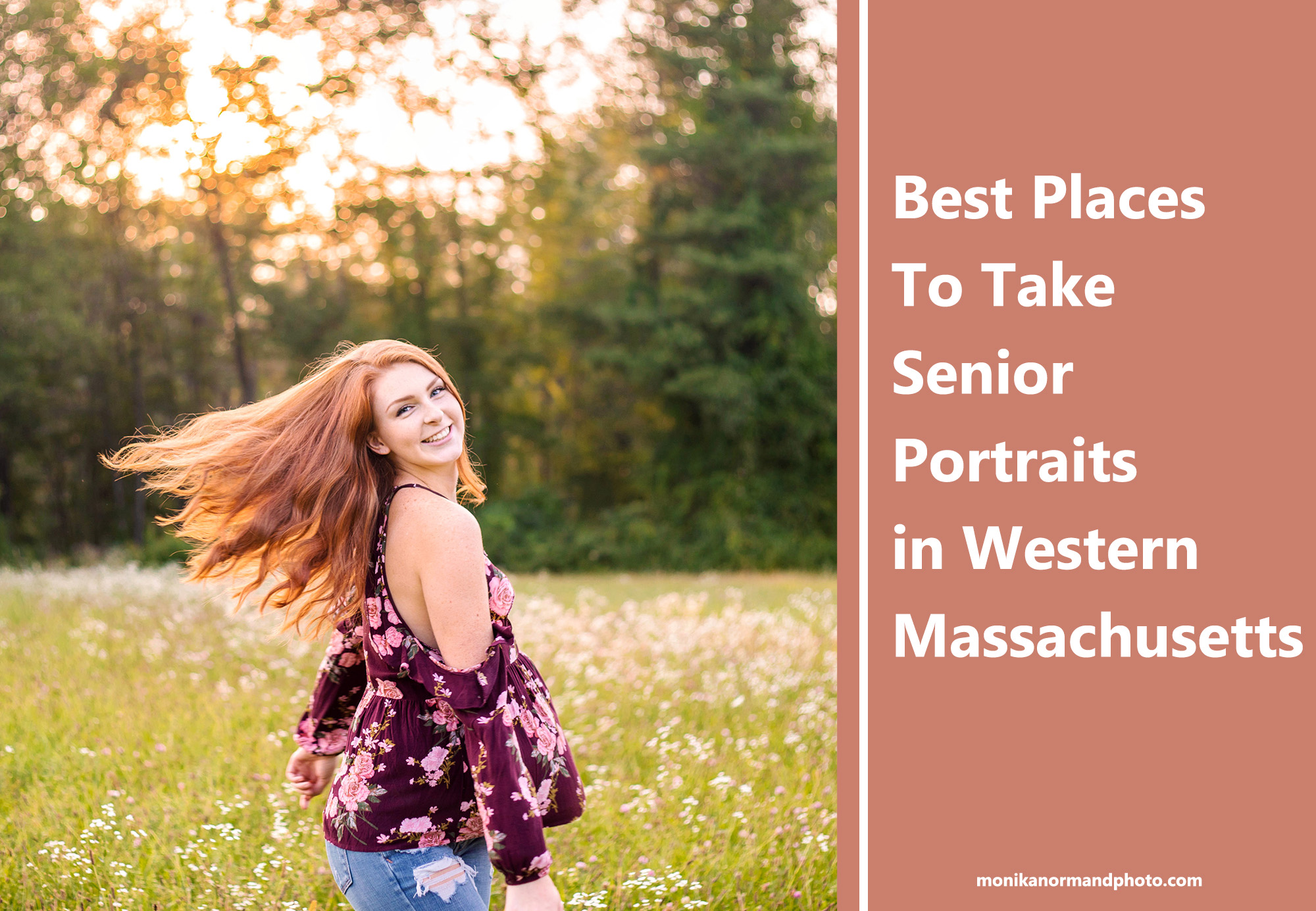 Best Places to Take Senior Portraits In Western Massachusetts